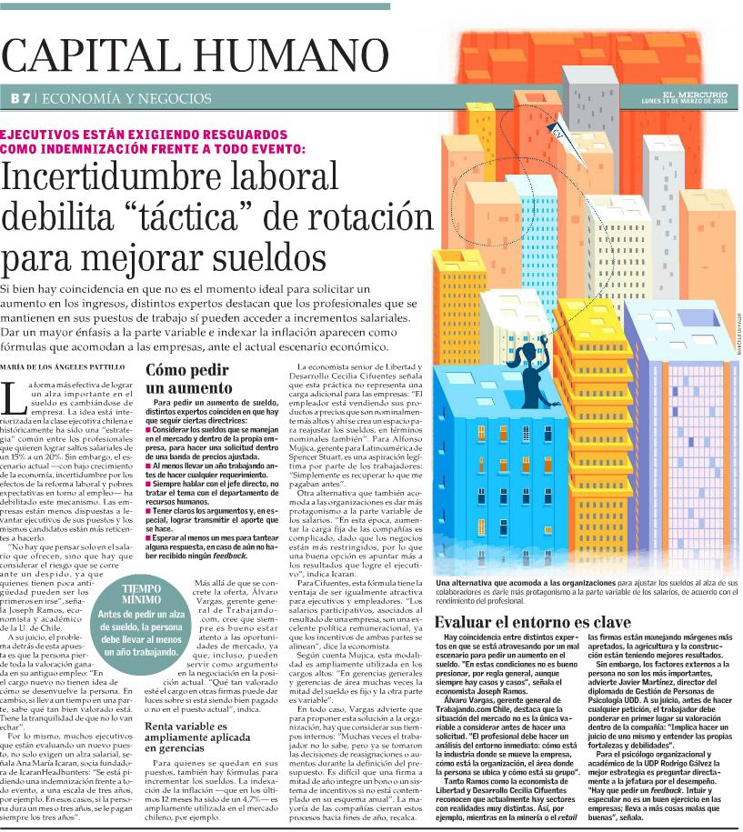 """Incertidumbre laboral debilita """"táctica"""" de rotación para mejorar sueldos"""